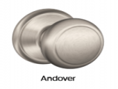 Andover, Door Hardware