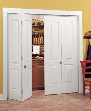 2 Panel Roman Bi-fold HomeStory & Closet Doors and Bi-Fold Folding Doors | HomeStory Doors