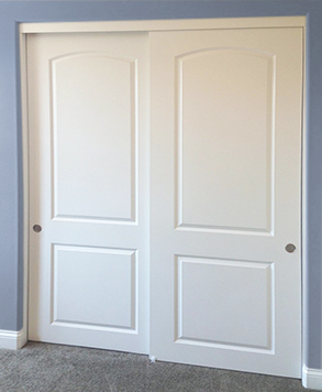 Closet Doors And Bifold Folding Doors Homestory Doors · 1000 Images About 2  Panel 2 Track Molded Panel Sliding