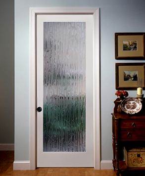 Bamboo Glass, Glass - Authentic Wood Door, HomeStory