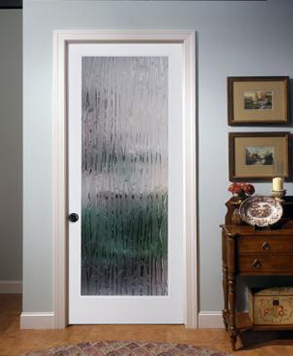 1L Bamboo OVOLO , Glass - Authentic Wood Door, HomeStory