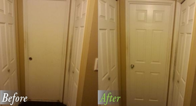 Hall Bath Before and After