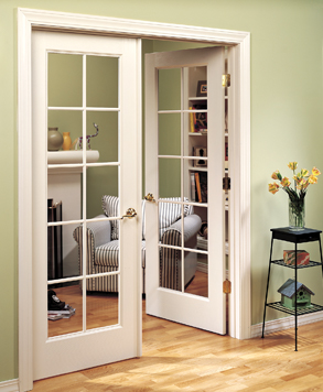 10 Lite Clear Glass, Authentic Wood Door, HomeStory