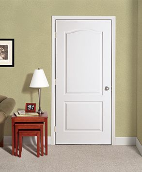 2 Panel Arch, Signature Door, HomeStory