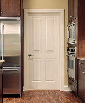 4 Panel Smooth, Signature Door, HomeStory