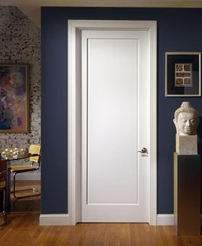 1000, MDF TruStile Door, HomeStory