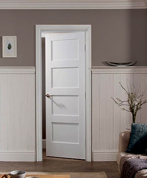 4100, MDF-TruStile Door, HomeStory