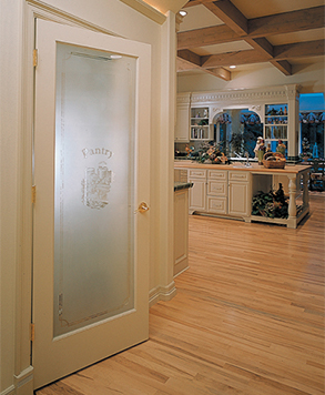 Pantry Glass, Authentic Wood Door, HomeStory
